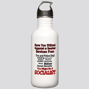 socialist Stainless Water Bottle 1.0L