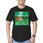 Canadian Camping Men's Fitted T-Shirt (dark)