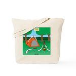 Canadian Camping Tote Bag