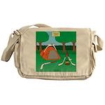 Canadian Camping Messenger Bag