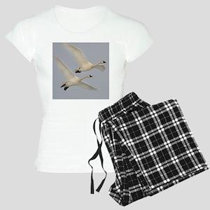 x10  Swans Women's Light Pajamas