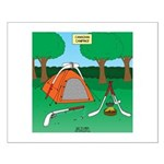 Canadian Camping Small Poster