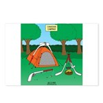 Canadian Camping Postcards (Package of 8)