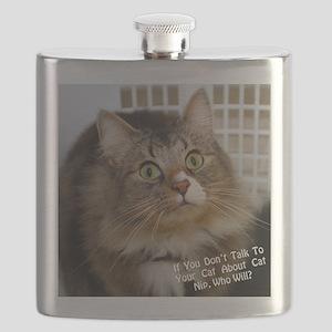 CATNIPGraphic Flask