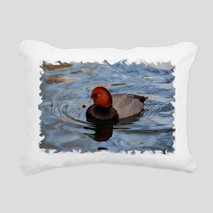 xW RedHead Rectangular Canvas Pillow