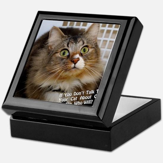 CATNIPGraphic Keepsake Box