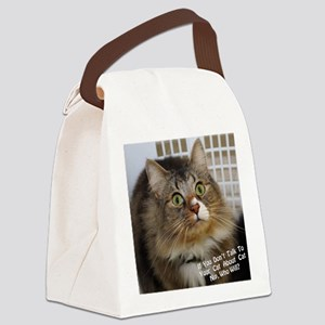 CATNIPGraphic Canvas Lunch Bag