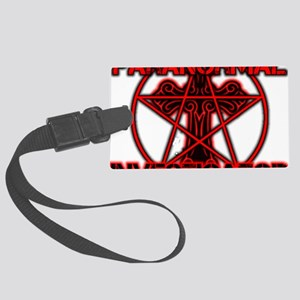 Paranormal signs Large Luggage Tag