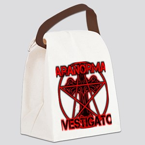 Paranormal signs Canvas Lunch Bag