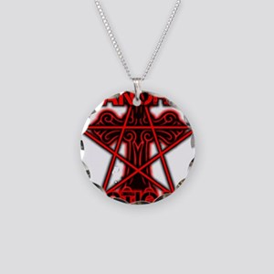 Paranormal signs Necklace Circle Charm