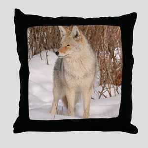 ms  Coyote 048 Throw Pillow