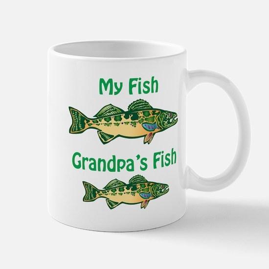 Mine/Grandpa's Fish Mug