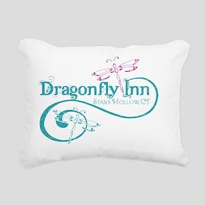 dragonflyinn distressed Rectangular Canvas Pillow