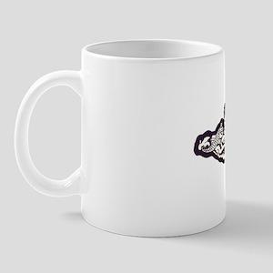 boston white letters Mug