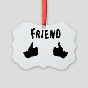 The Inbetweeners - Friend Dark Picture Ornament