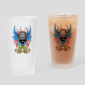 Loki rip Skullz 2 edit Drinking Glass