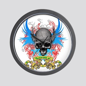 Loki rip Skullz 2 edit Wall Clock