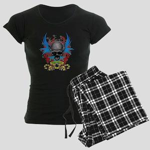 Loki rip Skullz 2 edit Women's Dark Pajamas