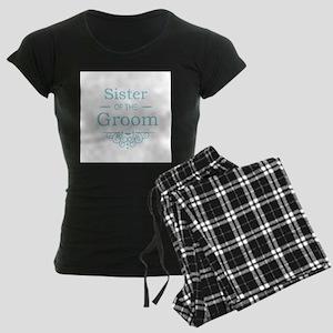 Sister of the Groom blue pajamas