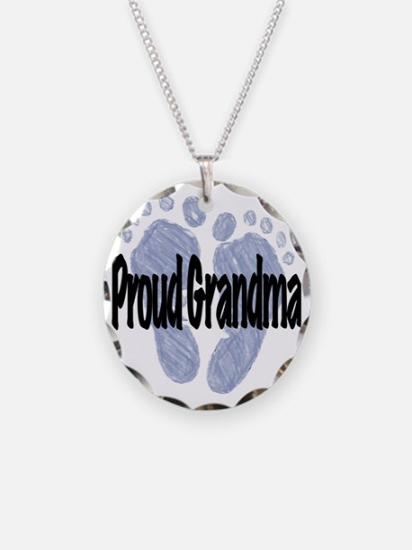 Proud Grandma (Boy) Necklace