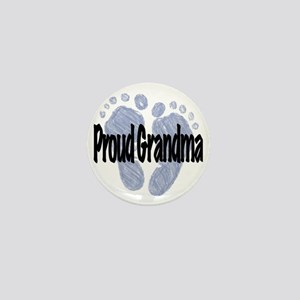 Proud Grandma (Boy) Mini Button