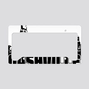 Nashville Skyline License Plate Holder