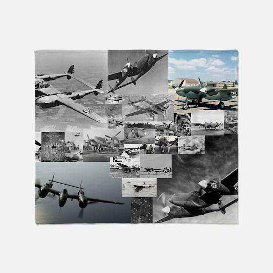 CP-LPST P38 V2d Throw Blanket