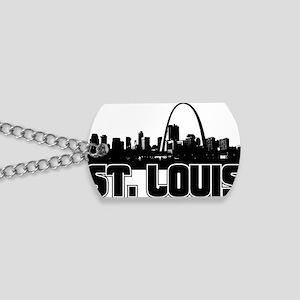 St. Louis Skyline Dog Tags