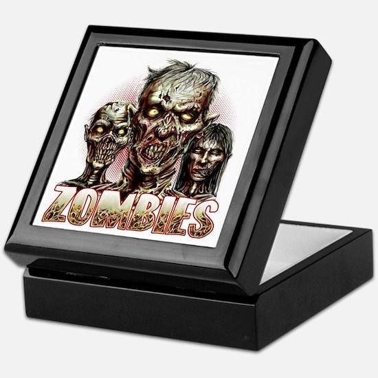 zombies Keepsake Box