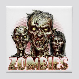 zombies Tile Coaster