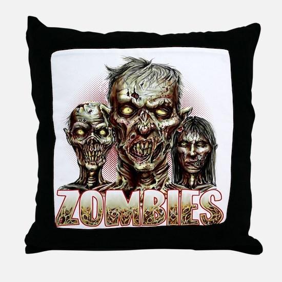 zombies Throw Pillow
