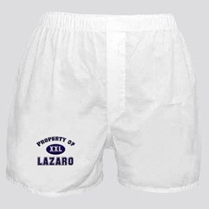 Property of lazaro Boxer Shorts
