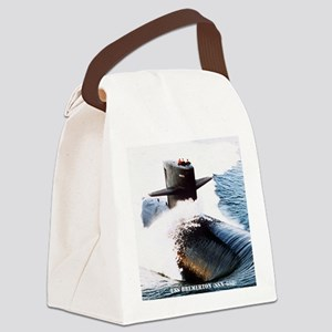 bremerton calendar Canvas Lunch Bag
