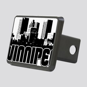 Winnipeg Skyline Rectangular Hitch Cover