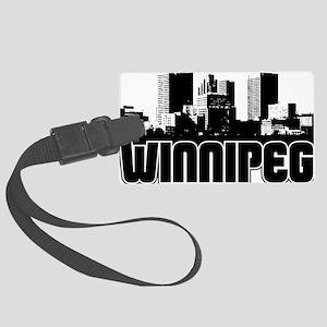 Winnipeg Skyline Large Luggage Tag