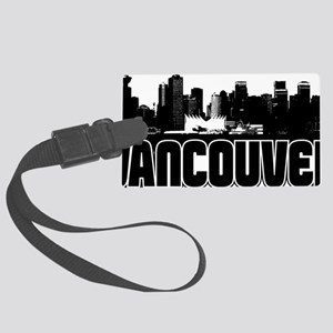 Vancouver Skyline Large Luggage Tag