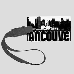 Vancouver Skyline Large Luggage Tag
