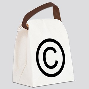 Copyright Canvas Lunch Bag