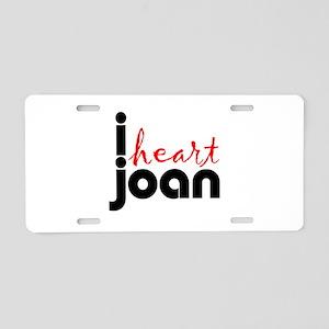 Joan Aluminum License Plate