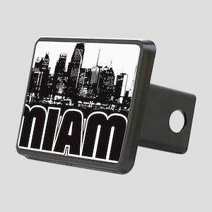 Miami Skyline Rectangular Hitch Cover