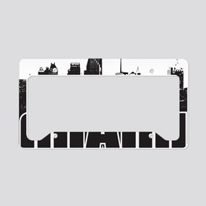Miami Skyline License Plate Holder