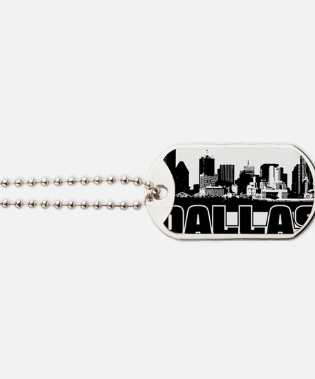 Dallas Skyline Dog Tags
