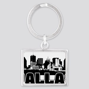Dallas Skyline Landscape Keychain
