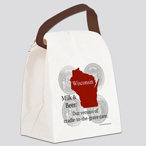 Wisconsin Canvas Lunch Bag