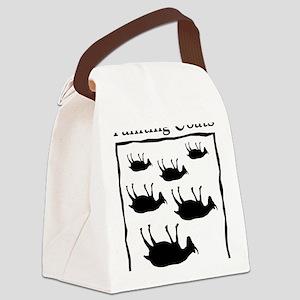 fainting goat Canvas Lunch Bag