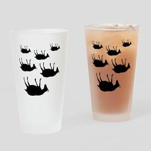 fainting goat_goats Drinking Glass