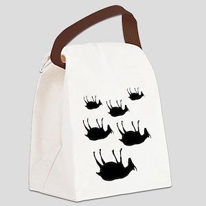 fainting goat_goats Canvas Lunch Bag