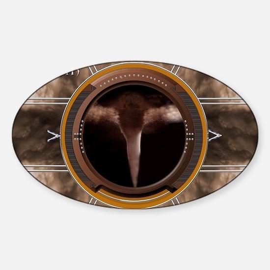Zephyr16X20 Sticker (Oval)