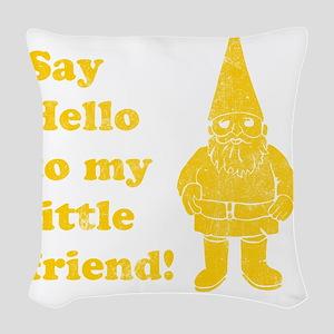 littlefriend Woven Throw Pillow