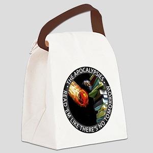 apocalypsies-grey Canvas Lunch Bag